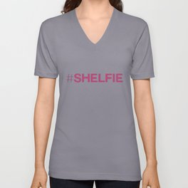#shelfie Unisex V-Neck