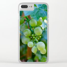 Sprig of Grapes Clear iPhone Case