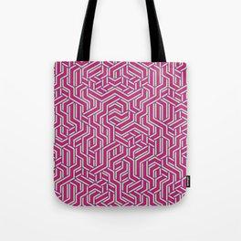 Bubblegum Maze Tote Bag