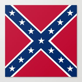 Confederacy Battle Flag Of Virginia Canvas Print