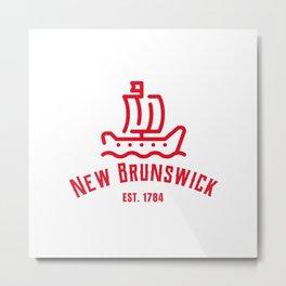 New Brunswick Est. 1784 Metal Print