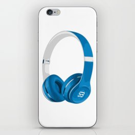 Vive la musique - Headphones, by SBDesigns iPhone Skin