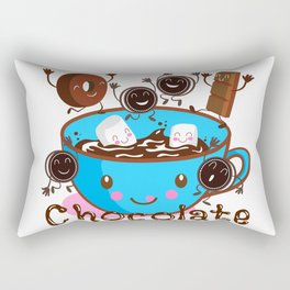 Hot Chocolate fun! Rectangular Pillow