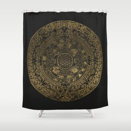 The Mayan Realization Shower Curtain