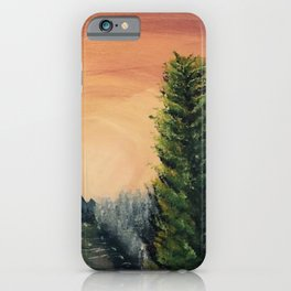 Cliffs Landscape by Noelle's Art Loft iPhone Case