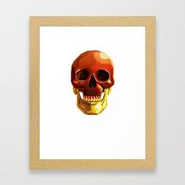 Golden Jaw Framed Art Print