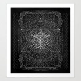 Dark Matter - by Aeonic Art Print