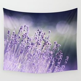 Spring Purple I Wall Tapestry