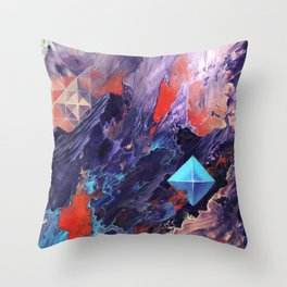 The Disillusion of Self Perception. Throw Pillow