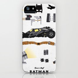 HERO'S STUFF - (I no longer have the right to say his name here...) iPhone Case