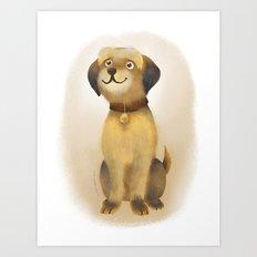 Charlie Dog Art Print