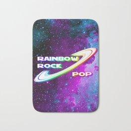 Rainbow Rock Pop app Game Bath Mat