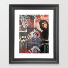 Stereo Jackie Framed Art Print