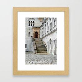 Tinted Doorway Framed Art Print
