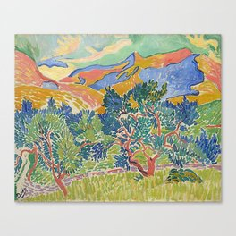 Good Mountain by Henri Matisse Canvas Print