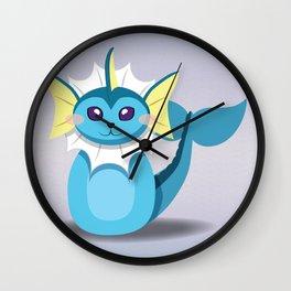 Evolution Bobbles - Vaporeon Wall Clock