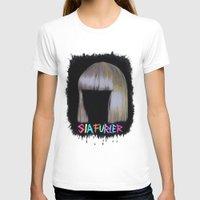 sia T-shirts featuring SIA by Melina Espinoza