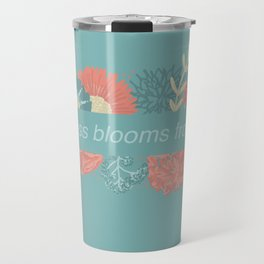 Happiness blooms from within Travel Mug