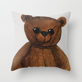 Stare bear. Throw Pillow