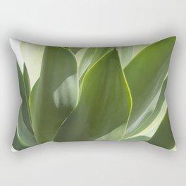 green leaves Rectangular Pillow
