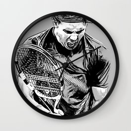 Rafa is Pumped Wall Clock