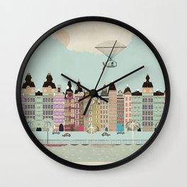 Visit Amsterdam Wall Clock