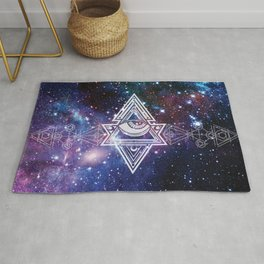 The All Seeing Eye Roll - Deep Space Rug