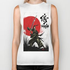 Samurai Warrior Biker Tank