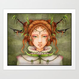 Queen of Light Art Print