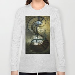 Inside the old lighthouse Long Sleeve T-shirt
