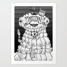 Cute Rapist Art Print