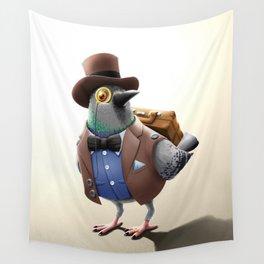 Urban Citizens - Classic Pidgeon Wall Tapestry