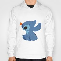 lilo and stitch Hoodies featuring Stitch by Alexbookpages