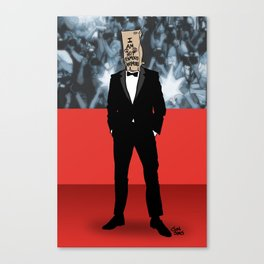 I Am Not Famous Anymore Canvas Print