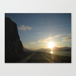 Seward Hwy Alaska Canvas Print
