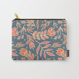 Loquacious Floral Carry-All Pouch