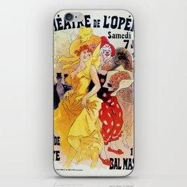 1897 Carnaval Ball Paris Opera iPhone Skin