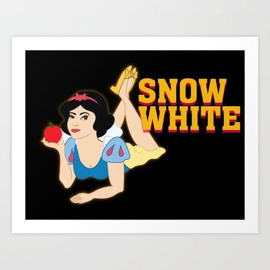 Snow Fiction Art Print