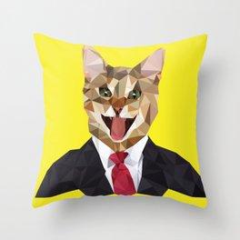 Buisness Catual Throw Pillow