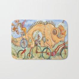 Monster Bike Bath Mat