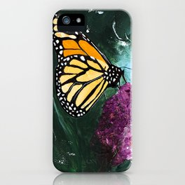 Butterfly - Soft Awakening - by LiliFlore iPhone Case