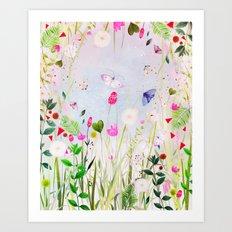 memoryfields Art Print