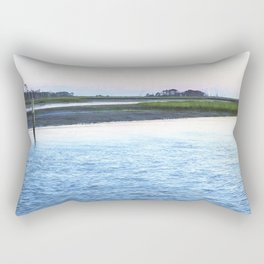 Early Evening at Chincoteague Bay Rectangular Pillow