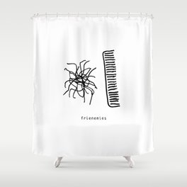 frienemies Shower Curtain