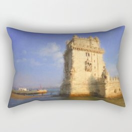 Torre de Belem Rectangular Pillow