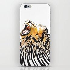 lion barcode iPhone & iPod Skin