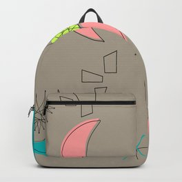 Boomerangs and Starbursts Backpack