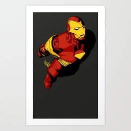 Starks In-Flight 2 Art Print