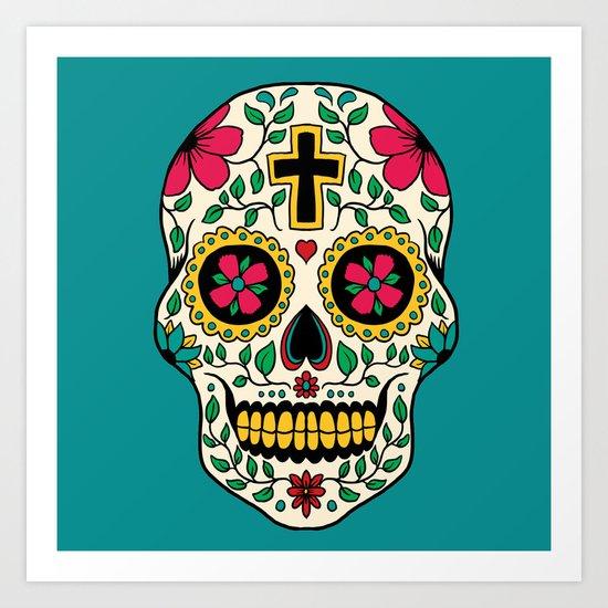 Skull Tattoo Art Print