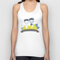 cook Tank Tops featuring Let's cook by Paula García